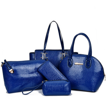 2015 new products 6pcs in 1 set fashion handbags bag in bag for women tote  bag a6a216bd45e93