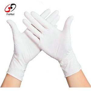 Disposable powder free latex gloves for examination and surgical