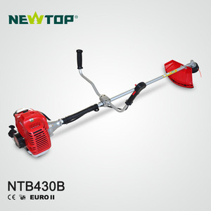 2 stroke 43cc gasoline manual grass trimmer brush cutter for agriculture