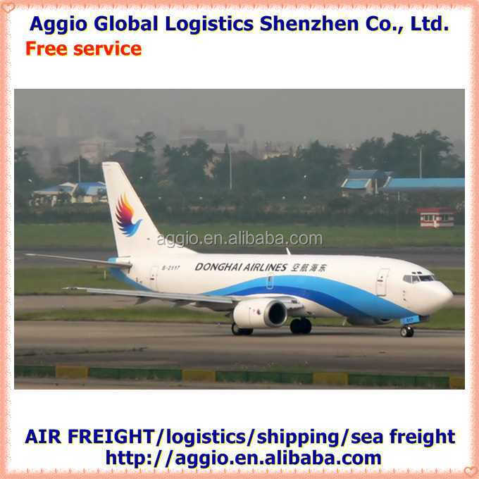 cheap air freight from china to worldwide for acrylic and polyester brushed yarn air logistics
