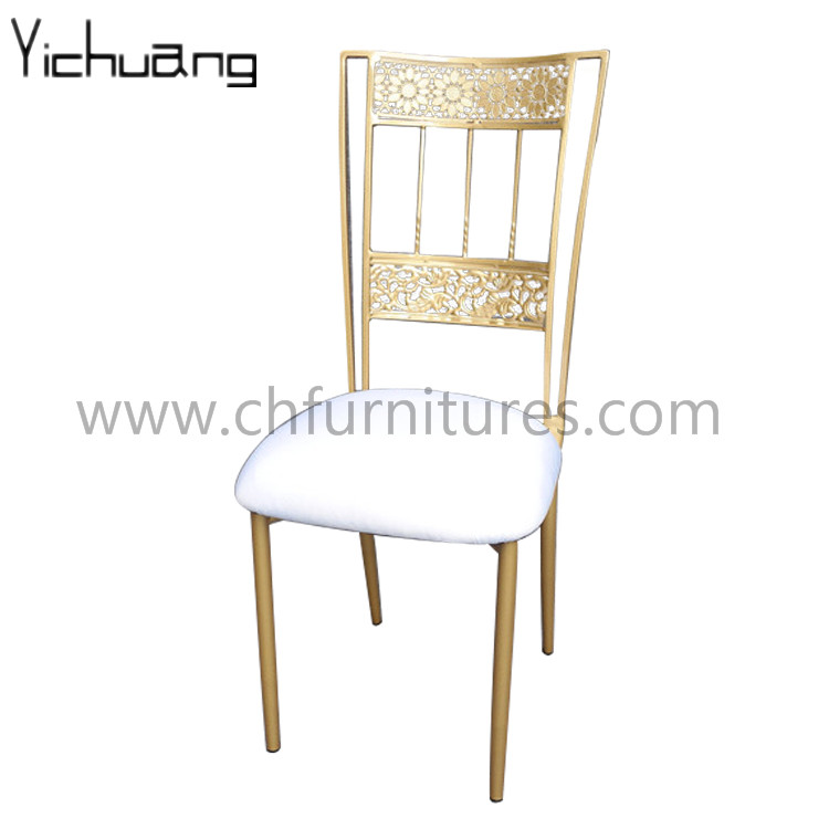 Metal Solid Wood Wedding King Throne Chair YC-SW02