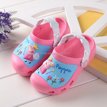 KS00146C Wholesale pvc cartoon pattern soft bottom sandals kids pvc sandal jelly shoes