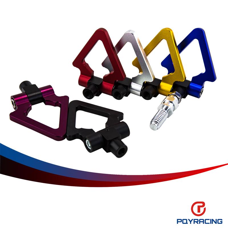 Pqy RACING-LZONE гонки алюминиевых заготовок фаркоп передние задние алу чпу треугольник кольцо эвакуатор буксирный крюк для BMW европейский PQY009
