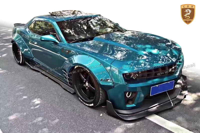 Luxury design MB style wide body kit for chevrolet camaro in cf+frp