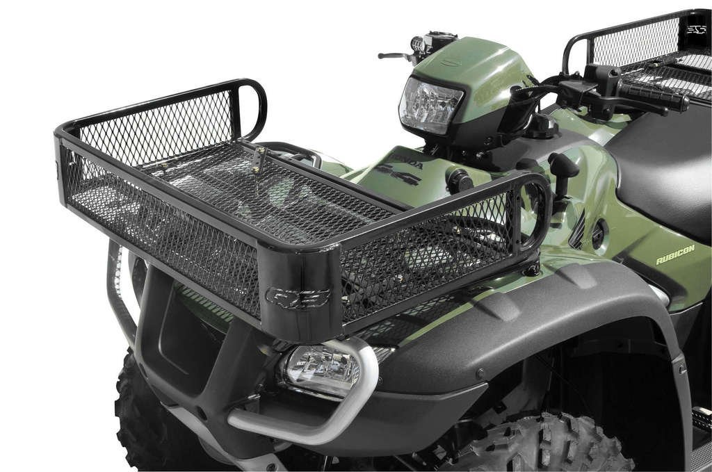 ATV FRONT /& REAR Cargo Carrier Basket Rack UNVERSAL FIT