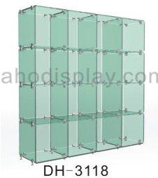 Diy Glass Cabinet - Buy Glass Cabinet,Display Showcase,Glass ...