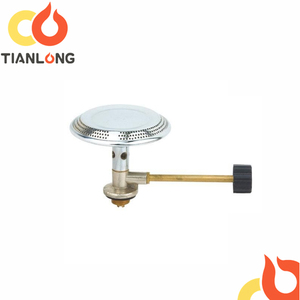 Stainless lpg gas burner for 6kg camping lpg gas cylinder