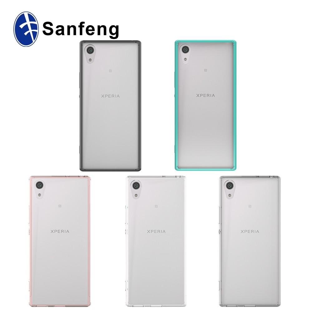 Soft tpu case for sony xperia xa1 ultra crystal clear for Housse xa1 ultra