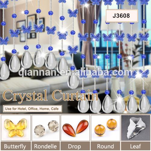 Crystal beads curtains, Screens, String curtain