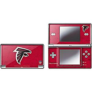 NFL Atlanta Falcons DS Lite Skin - Atlanta Falcons - Alternate Distressed Vinyl Decal Skin For Your DS Lite
