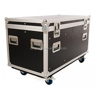 Large Capacity Road Trunk Flight Case with Divides and Tray