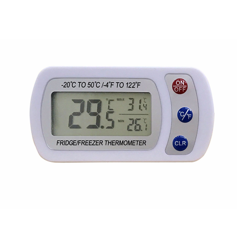 CE FDA Electronic Digital Thermometer min max digital Fridge freezer thermometer