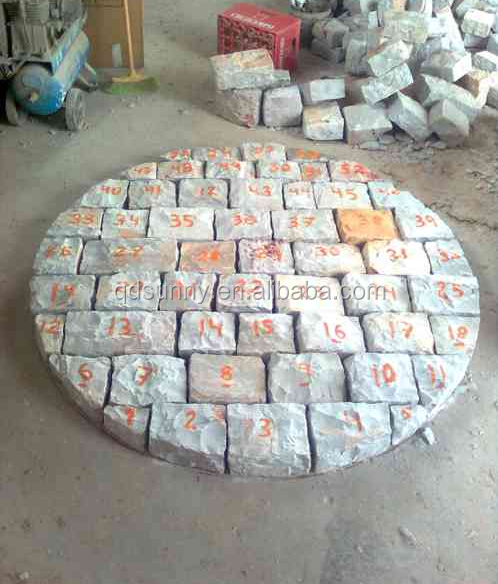 silex stone / silica stone for lining grinding / silica stone pebble for grinding / flint pebble / silex