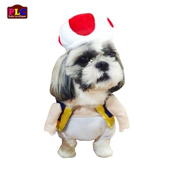 Cheap Unique And Quality Super Mario Toad Luigi Dog Costume Clothes