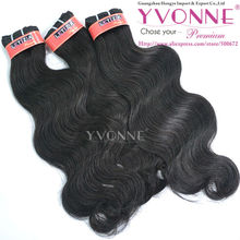 Full cuticle 100% virgin human indian remy hair suppliers