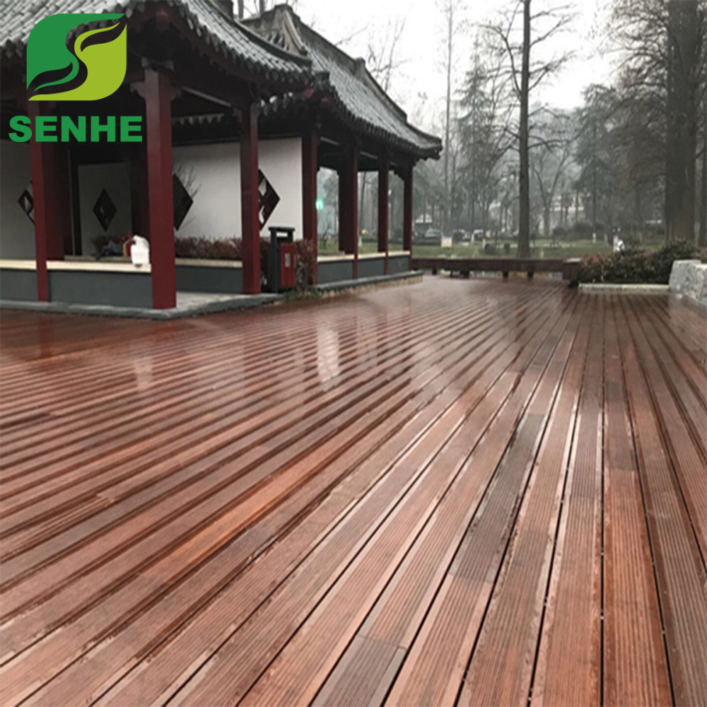 Cheap waterproof laminate engineered portable outdoor bamboo flooring