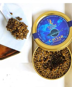 china caviar factory sell canned fish roe Russian Osetra Karat Caviar  different types of caviar
