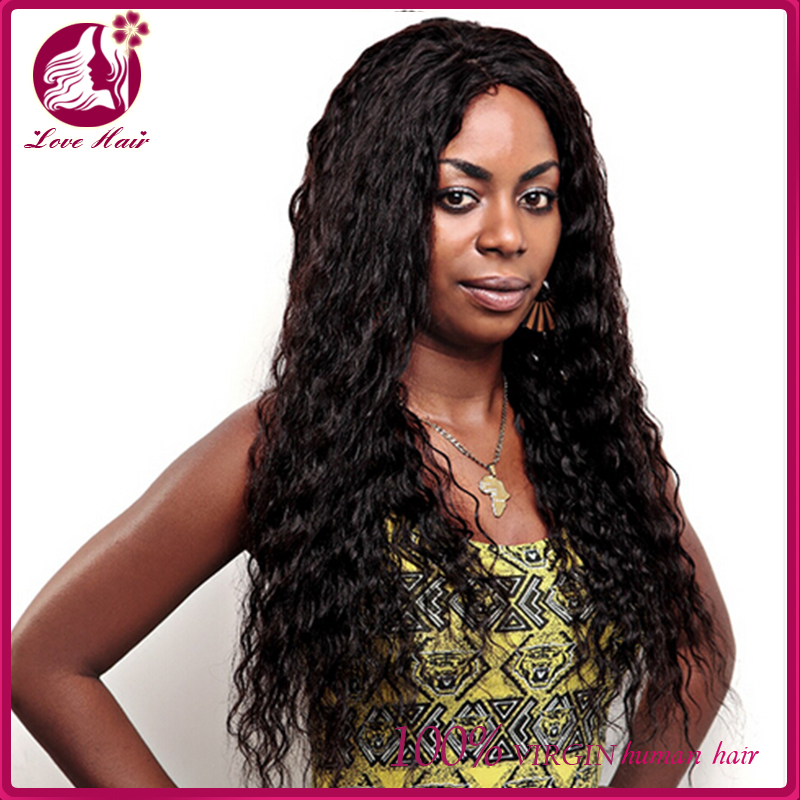 Hot sale natural color hair bundle braids on weft micro Brazilian hair deep wave