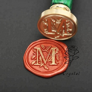 Beautiful delicate inexpensive hot wax seal stamp