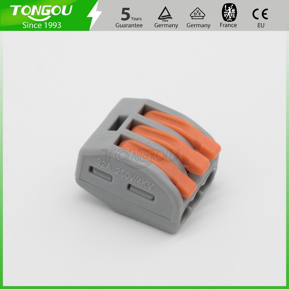 Compact Connector With Lever Suppliers Wago 2 Wire 222 412 Terminal Block Cage Clamp And Manufacturers At