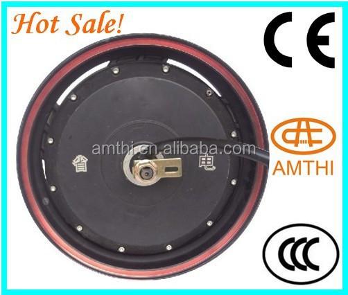 "Wholesale 13"" Scooter Electric Wheel Hub Motor With Controller,High Speed 3000w Hub Motor For Sale,Amthi"