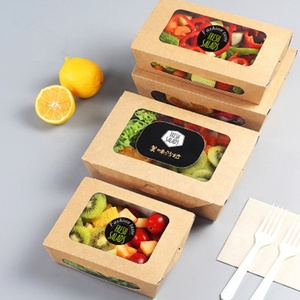HIGH QUALITY kraft paper airline/trains/ takeaway box