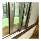 as standard windows safety double glazed sliding aluminum window