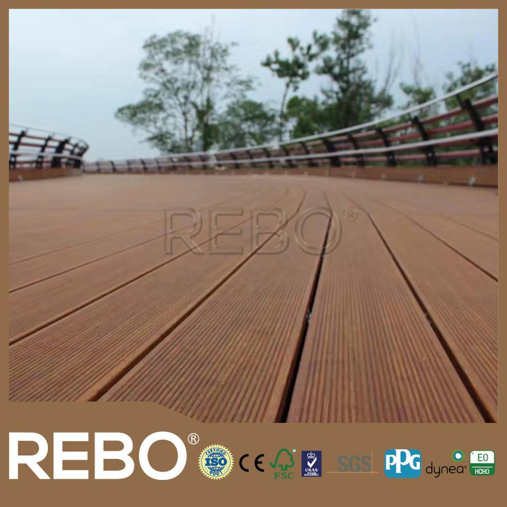 Easy Installation Floating Floor Bamboo
