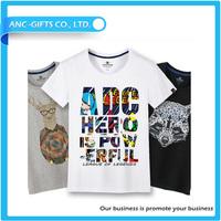 custom design fancy cartoon comfortable and high quality t shirt turkey wholesale for men