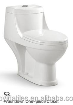 Bathroom Ceramic Sanitary Ware One-piece Toilet (53) - Buy One-piece ...