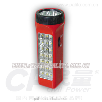 Factory Price 21 7 Pcs Led Portable Emergency Light Automatic Rechargeable Torch
