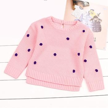 51358608090 Puntos niñas suéter del ganchillo de bebé recién nacido niños de primavera  ropa de los niños