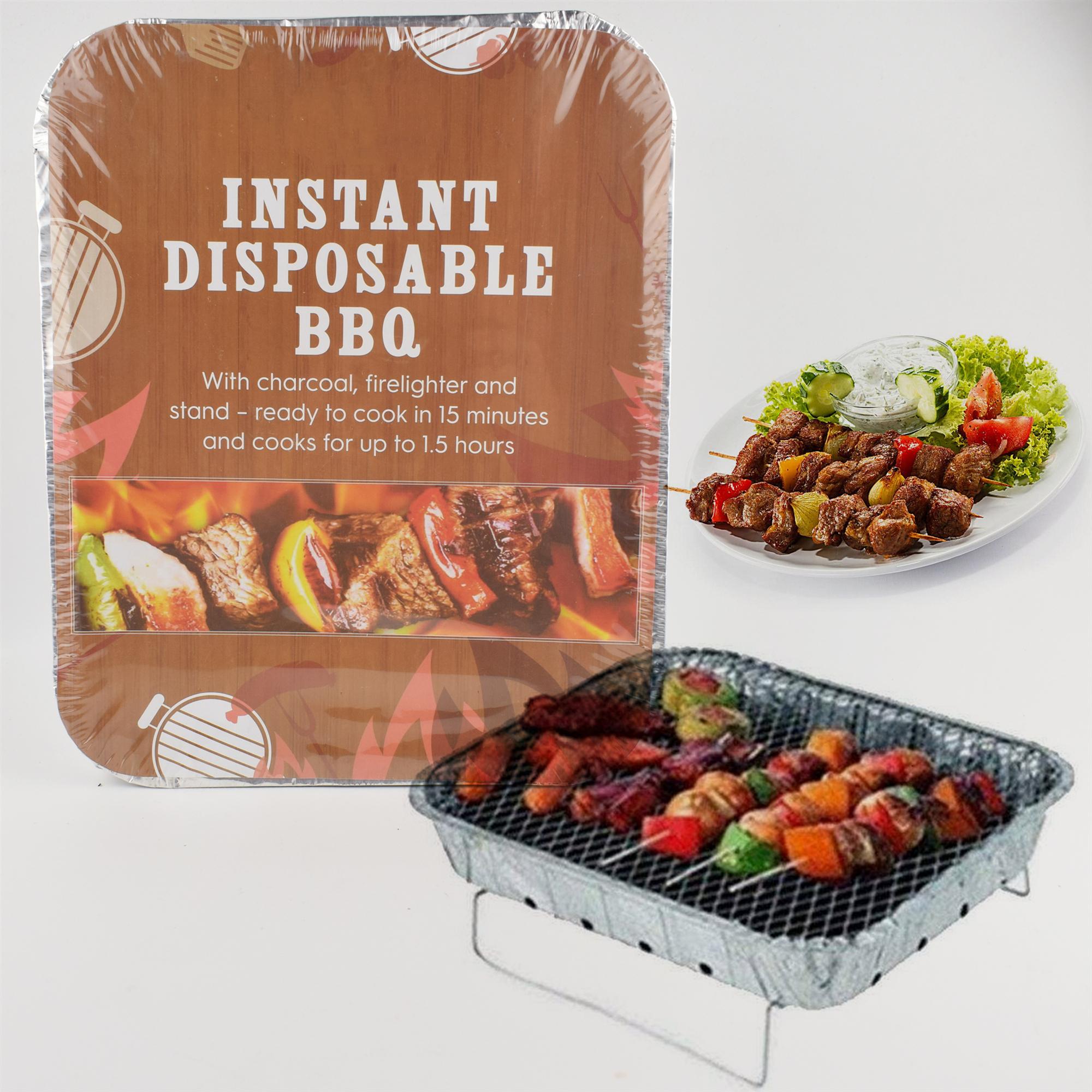 Barbecue Barbecue outils de jardin en plein air camping pique-nique sans fumée casserole en aluminium jetable instantanée Barbecue Barbecue au charbon de bois