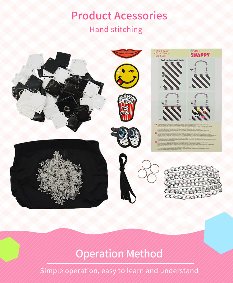 2018 online store girls diy pvc bag kids educational toys for 6 years old