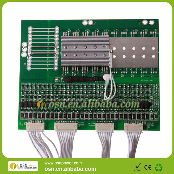 96V 20A BMS/PCM for 30S LiFePO4 battery pack