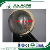 Pressurized Glass Pipe Material and Free standing heat pipe solar water heater