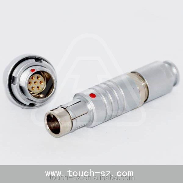 S102 7pin quick lock 2 Pin Way Sealed auto Waterproof Electrical Wire Plug connectors with cable