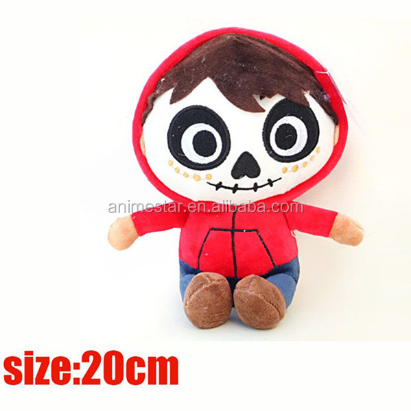 Coco Movie Miguel Rivera Doll 3D Cartoon Cosplay Boy Anime Plush Toy 20CM