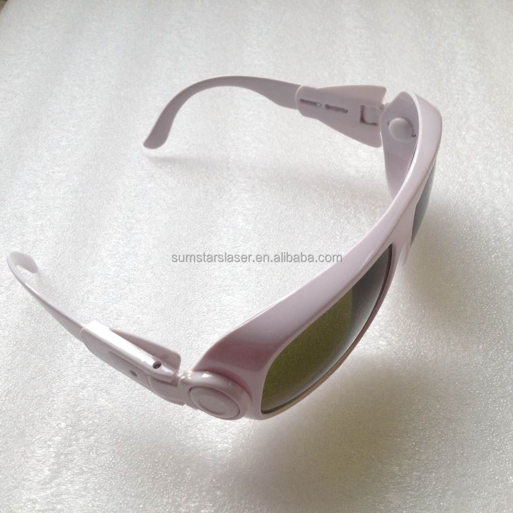 Safe goggles for ipl / protective goggles for nd yag laser