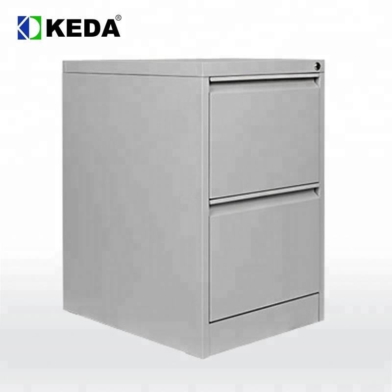 Office Equipment 2 Drawer Metal Drawer File Cabinet