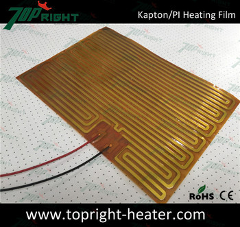 Polyimide Electrothermal 12v Heating Film Buy Kapton