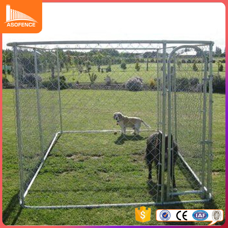 Hot dipped galvanized large size dog kennels