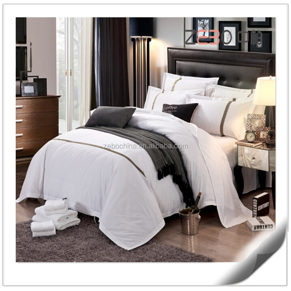 Hilton Hotel Collection Bedding: Wholesale Luxury Hotel Bedding Sets Pure White Hotel