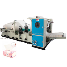 production line v folding high speed kleenex tissue automatic drawing facial tissue folding machine FT20A