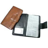 leather cover business name card album book 40