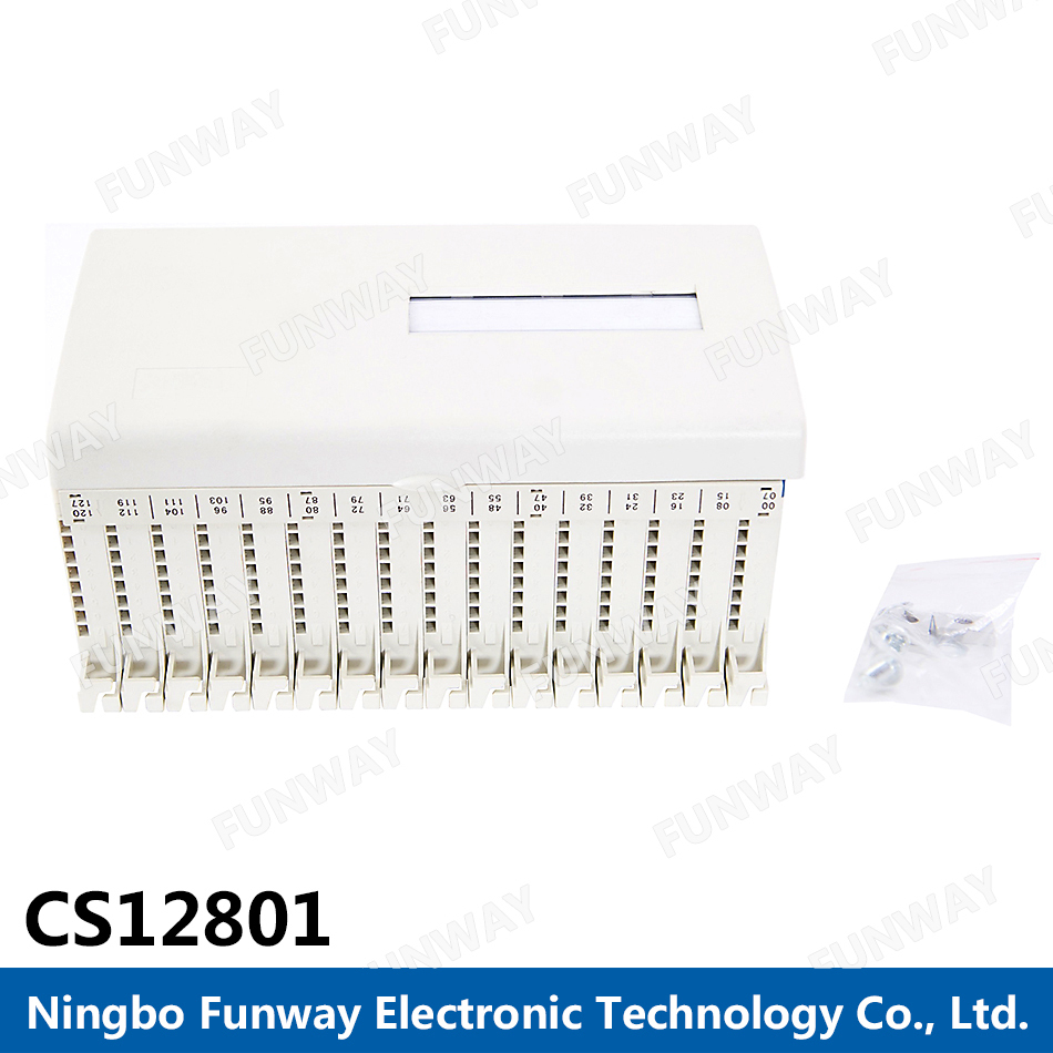 Zhejiang Networking Use 200 pair cable terminal block