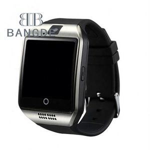 2017 Touch Screen SIM Card Slot Android Smart Watch Phone Smartwatch Q18 with Camera for Huawei LG Android Smart Phone