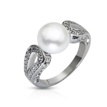 engagement pearl white diamond sterling unusual rings ring silver and jewellery