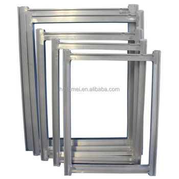 Silk Screen Printing Aluminium Frame With Different Specification ...