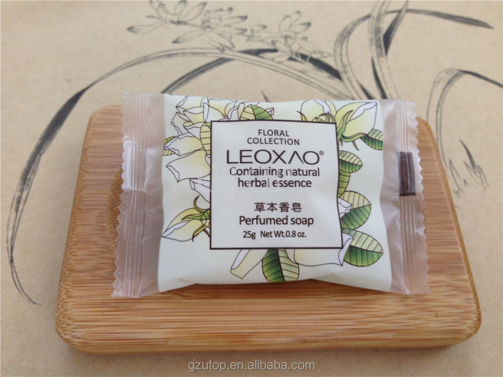 New style wholesale hotel disposable soap natural handmade soap